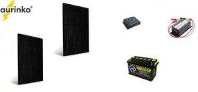 Комплект солнечных батарей для дачи, дома Эконом 500