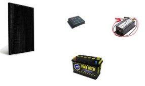 Комплект солнечных батарей для дачи Эконом 50